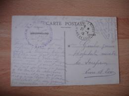 Chartres Salle Militaire Hospice Cachet Franchise Postale Militaire Guerre 14.18 - Guerre De 1914-18