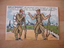 Illustrateur Mayon  Poilus Sur La Maginot - Guerre 1914-18