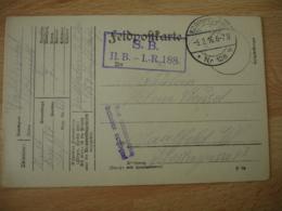 Ww1 W W 1 Feldpostcarte Truppen Ubungsplatz Heuberg  Cachet Censure Pour Le Bouscat - Guerre De 1914-18