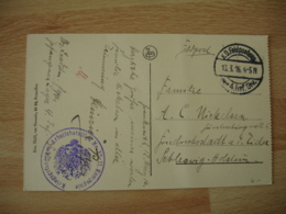 Guerre 14.18 Reims Occupation Allemande K D Feldpostexp 4 Inf Div  Kriegsfangenen  Arbeitsbatailen N 37 - Guerre De 1914-18