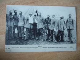 Guerre 14.18 Prisonniers Allemanss Dans Camp Anglais - Guerre 1914-18