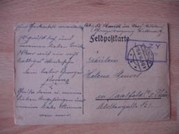 Guerre 14.18 Ww 1 19.4.16 Bendzn Cachet Lazy Feldpostkarte - Germania