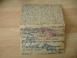 Guerre 14.18 Ww 1 Lager Innsbruck Austria Lettre Prisonnier  Pour Russie ? - Guerre De 1914-18