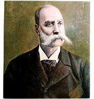 #12  Portrait Of ''Georgi Markovich'' By V. Dimitrov ? - Fine Art Postcard - Peintures & Tableaux