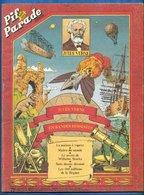 No PAYPAL !! : Pif Bd JulesVERNE Rouge François Bourgeon André Juillard Alfonso Font Franjacq ,Éo Vaillant 1979 TTBE+ BD - Editions Originales (langue Française)