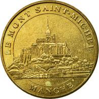 France, Jeton, Jeton Touristique, Le-Mont-Saint-Michel - Vue Générale N°2 - France