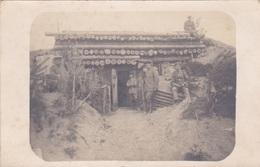Alte Ansichtskarte Aus Dem 1. Weltkrieg -Quartier Am Schwabenkopf_ - Guerre 1914-18