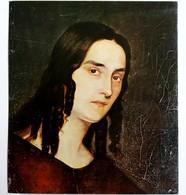 #12  Portrait Of ''Wife Paffaelo Cocoli'' By V. Dimitrov ? - Fine Art Postcard - Peintures & Tableaux