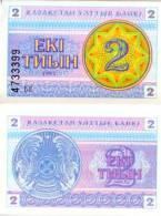KAZAKHSTAN 2 Tyin 1993  **UNC** - Kazakhstan