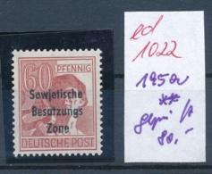 SBZ- Nr. 195a  ** Signiert      (ed1022   ) Siehe Scan - Sowjetische Zone (SBZ)