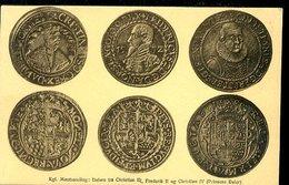 WD279 KGL MONTSAMLING : DALERE FRA CHRISTIAN III , FREDERIK II OG CHRISTIAN IV ( PRINSENS DALER ) - Monnaies (représentations)