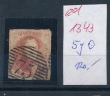 Belgien Nr. 5y   O   (ed 1343  ) Siehe Scan - 1884-1891 Leopold II