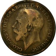 Monnaie, Grande-Bretagne, George V, Penny, 1918, B+, Bronze, KM:810 - 1902-1971 : Monnaies Post-Victoriennes