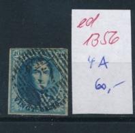 Belgien Nr.  4 A  O   (ed 1356  ) Siehe Scan - 1869-1883 Leopold II.