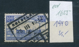 Belgien  Eisenbahn  194 O   (ed 1655  ) Siehe Scan - Bahnwesen