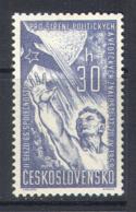3033 Space Raumfahrt Luna-2 1959 Czechoslovakia 1v MNH ** - Space