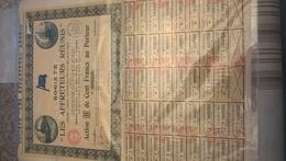 SOCIETE LES AFFRETEURS REUNIS  (action B De Cent Francs) - Transports