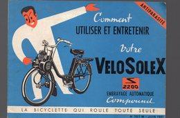Courbevoie: Dépliant COMMENT UTILISER VOTRE VELOSOLEX  1961 (PPP10114) - Publicités