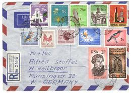 12924 - Par Avion Pour L'Allemagne - Afrique Du Sud (1961-...)