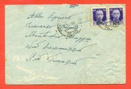 STORIA POSTALE REGNO- ANNULLO POSTA MILITARE N. 12-PM-18/8/1943 -  CENSURE - 1900-44 Vittorio Emanuele III