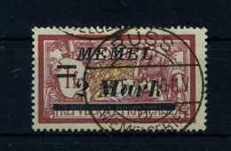 MEMEL 1922 Nr 64 Gestempelt (109450) - Memelgebiet