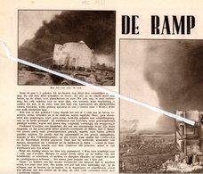 DE RAMP VAN CORVILAIN NU 44 JAAR GELEDEN IN 1933 HAVEN ANTWERPEN - Non Classés