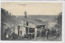55 SAVONNIERES . Village Très Animé , Cheval , Clocher , édit : Bericht Hoffmann München , écrite En 1915 , état Extra - France