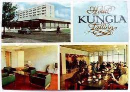 #12  Hotel ''Kungla'' - Tallinn, ESTONIA - Big Size Postcard - Estonie