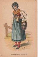 19 / 1 / 299  -  ANCIEN  COSTUME  SUISSE  -  GRISONS - GR Grisons