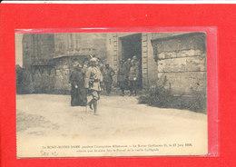 02 LE MONT NOTRE DAME Cpa Animée Le Kaiser Guillaune II Le 17 Juin 1918 ..... - France