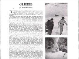1946 Glières Combattants Maquisards Section-Savoie-Lorraine,capitaine Anjot,lieutenant Dancet 1944 ,Tom,Théodore Morel.l - Non Classés