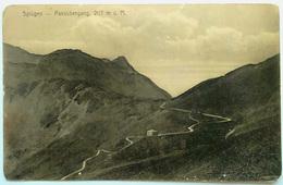 Splügen (SVIZZERA) - Passubergang - GR Grisons