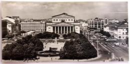 #13  Bolshoi Theatre, Sverdlov Square - MOSCOW, RUSSIA -  Postcard 1967 - Russie