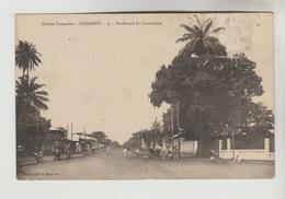 CPA CONAKRY (Guinée Française) - Boulevard Du Commerce - French Guinea
