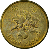 Monnaie, Hong Kong, Elizabeth II, 50 Cents, 1994, TTB, Brass Plated Steel, KM:68 - Hong Kong