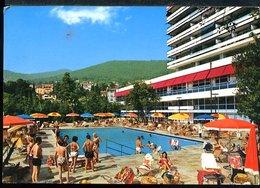 WD283 OPATIJA - HOTEL AMBASADOR , LA PISCINE - Jugoslavia