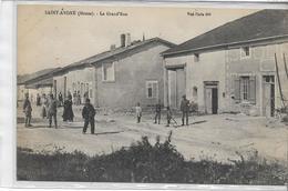 55 SAINT-ANDRE . La Grande Rue Animée , édit : I R Nancy , écrite En 1906 , état Extra Hormis Une Tache Au Dos - France