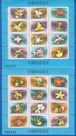 Rumänien; 1988; Michel Block 248 Und 249 **; Orhidee - 1948-.... Republiken