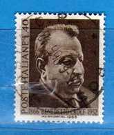Italia °- 1966 - BENEDETTO CROCE.  Unif. 1017.  Vedi Descrizione. - 6. 1946-.. Repubblica