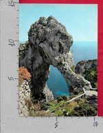 CARTOLINA VG ITALIA - CAPRI (NA) - Arco Naturale - 10 X 15 - ANN. 1961 OLIMPIADI ROMA - Napoli