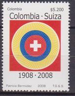 Bolivia Croce Rossa Red Cross MNH - Croce Rossa