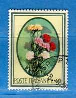 Italia °- 1966 - FLORA.  Unif. 1021.  Vedi Descrizione. - 6. 1946-.. Repubblica