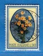 Italia °- 1966 - FLORA.  Unif. 1022.  Vedi Descrizione. - 6. 1946-.. Repubblica