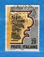Italia °- 1966 - Propaganda Turistica.  Unif. 1024.  Vedi Descrizione. - 6. 1946-.. Repubblica