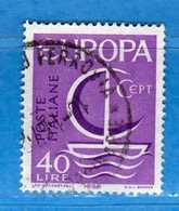 Italia °- 1966 - EUROPA.  Unif. 1029.  Vedi Descrizione. - 6. 1946-.. Repubblica