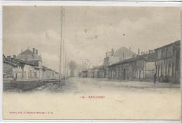 55 RANCOURT . Le Village , édit : Rodier Heiltz-le-Maurupt , écrite En 1904, état Extra - France