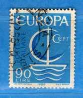 Italia °- 1966 - EUROPA.  Unif. 1030.  Vedi Descrizione. - 6. 1946-.. Repubblica