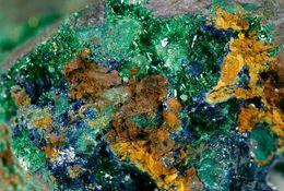 Mineral - Azzurrite E Malachite (Tsumeb, Oshokoto Region, Namibia) - Lot. 5 - Minéraux