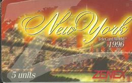 USA: Zenex - TeleCard World '96 Exposition New York - Vereinigte Staaten
