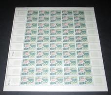 France 1963 Neuf** N° 1393 Vittel  Feuille Complète (full Sheet) - Feuilles Complètes